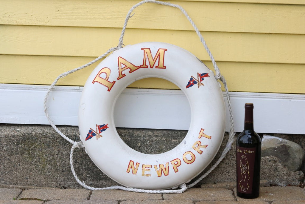 "Authentic Lifering ""Pam, Newport"""