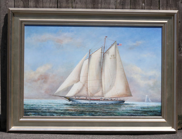 Two Masted Schooner | Oil