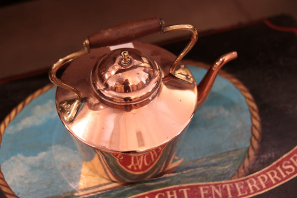 Antique Copper Kettle