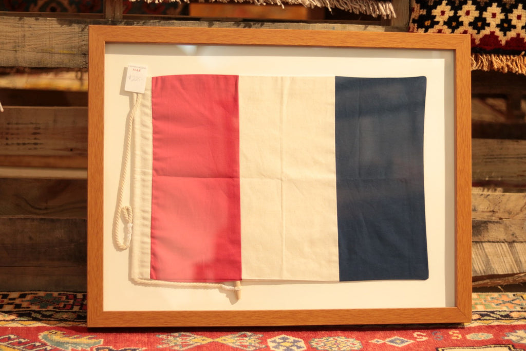 Shadowbox Frame of French Flag