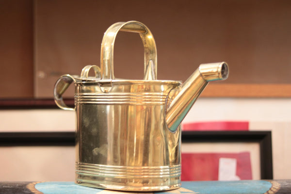 Early Brass Watering Can