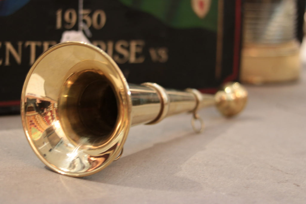 Brass Speaking Trumpet