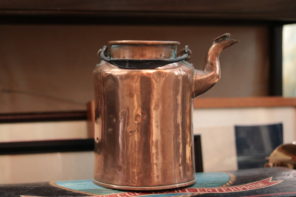 Early Copper Cream Pitcher