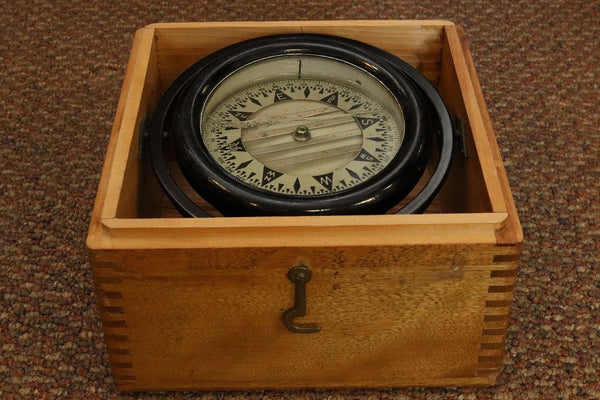 Box Compass by Wilcox Crittenden