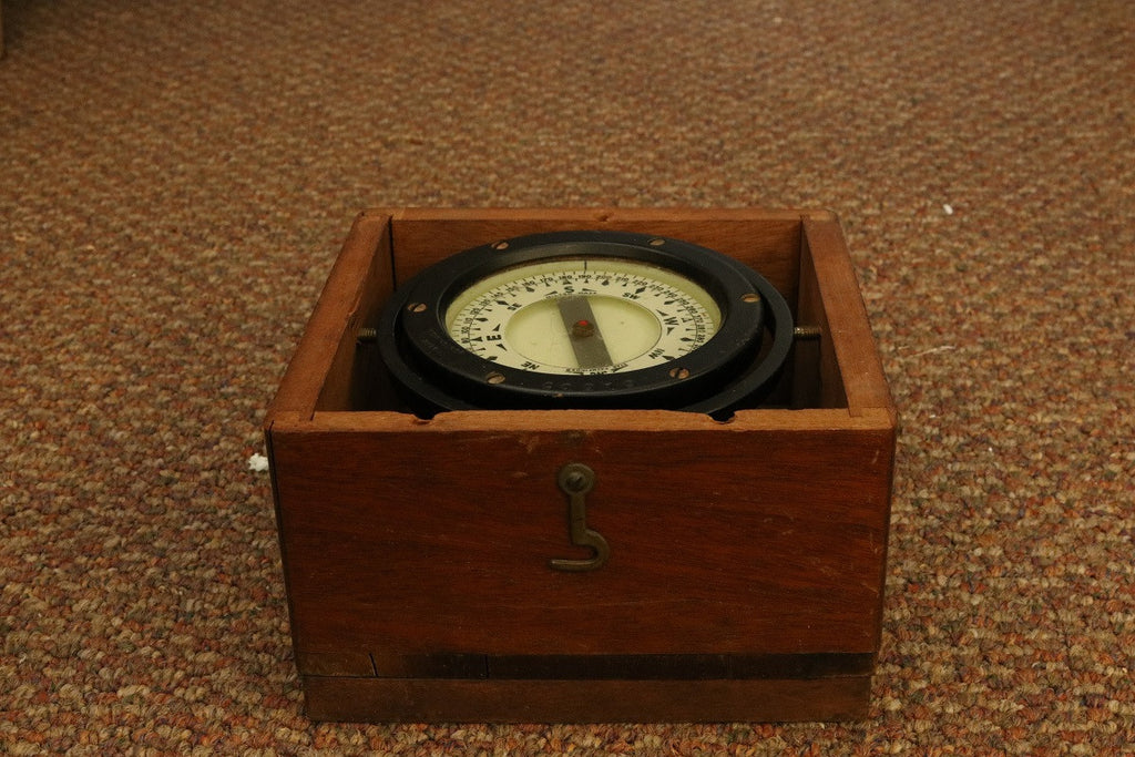 Iron Boxed Compass by Star of Boston