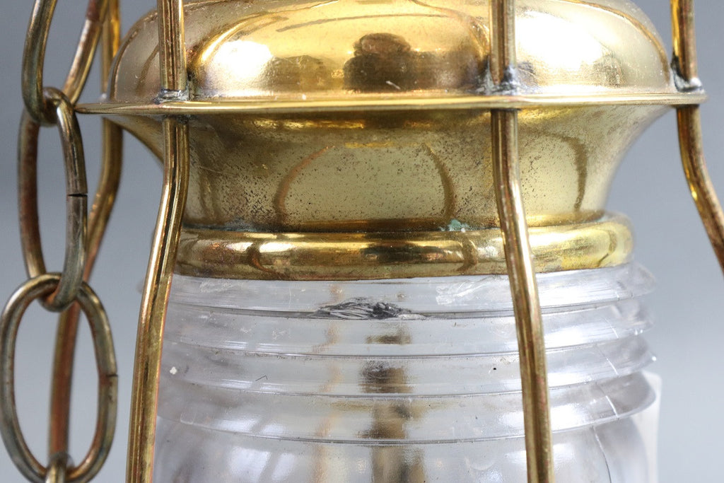 Brass Ship's Anchor Lantern