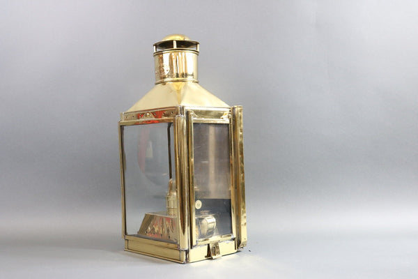 Solid Brass Ship Cabin Lantern