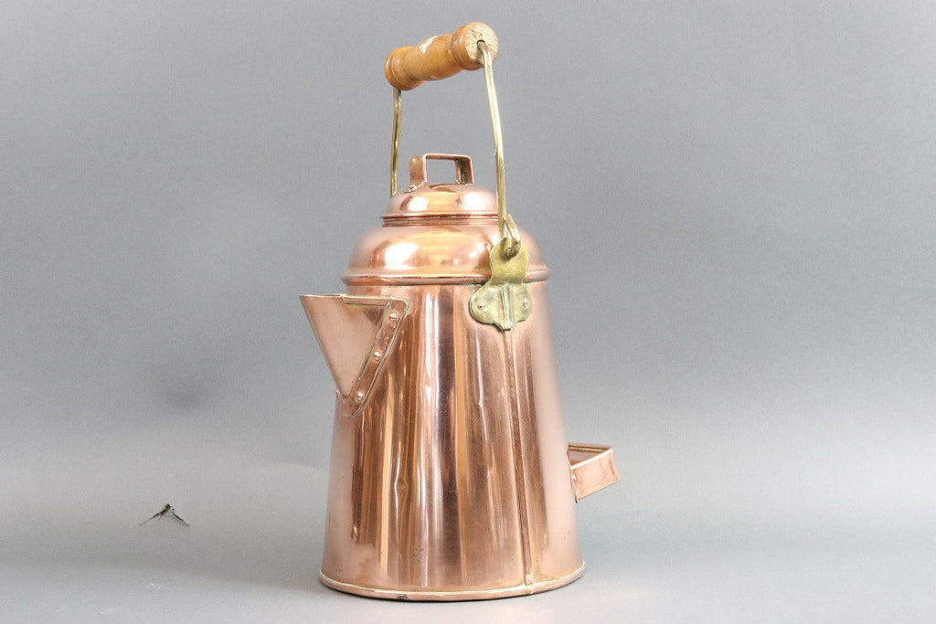 US Navy Copper Coffee Pot