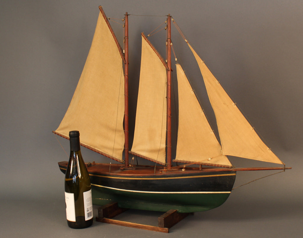 Antique Schooner Model