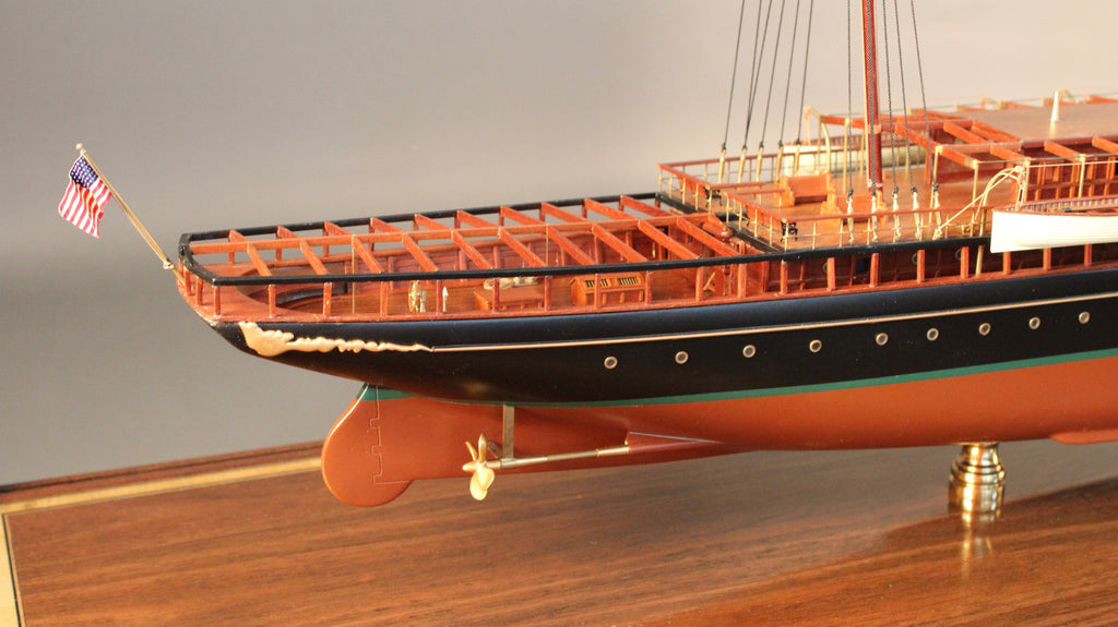 model of jp morgan u0026 39 s  u0026quot corsair iv u0026quot   1930