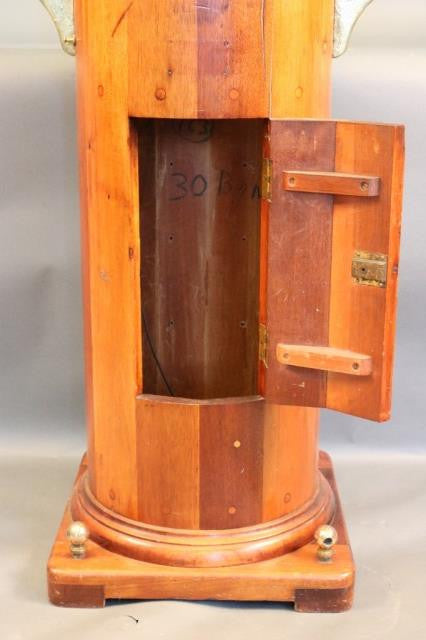 Ship's Binnacle with Brass Hood