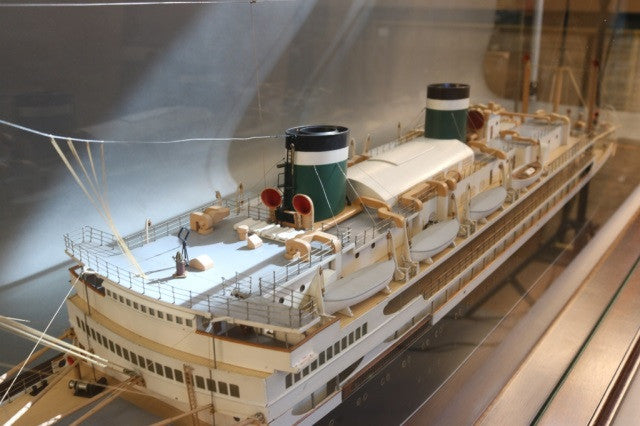 "Boucher Model of Passenger Liner ""Santa Paula"""
