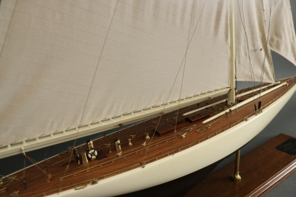 "Model of the America's Cup Yacht ""Enterprise"""