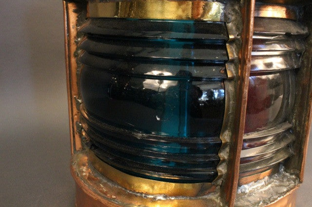 Solid Copper Ship's Trawling Lantern