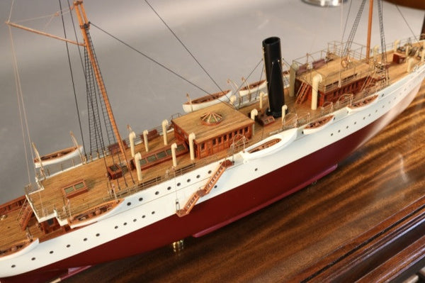 "Model of the Steam Yacht ""Mayflower"""