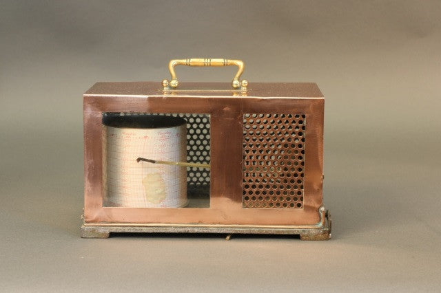 Copper Barograph From Short & Mason