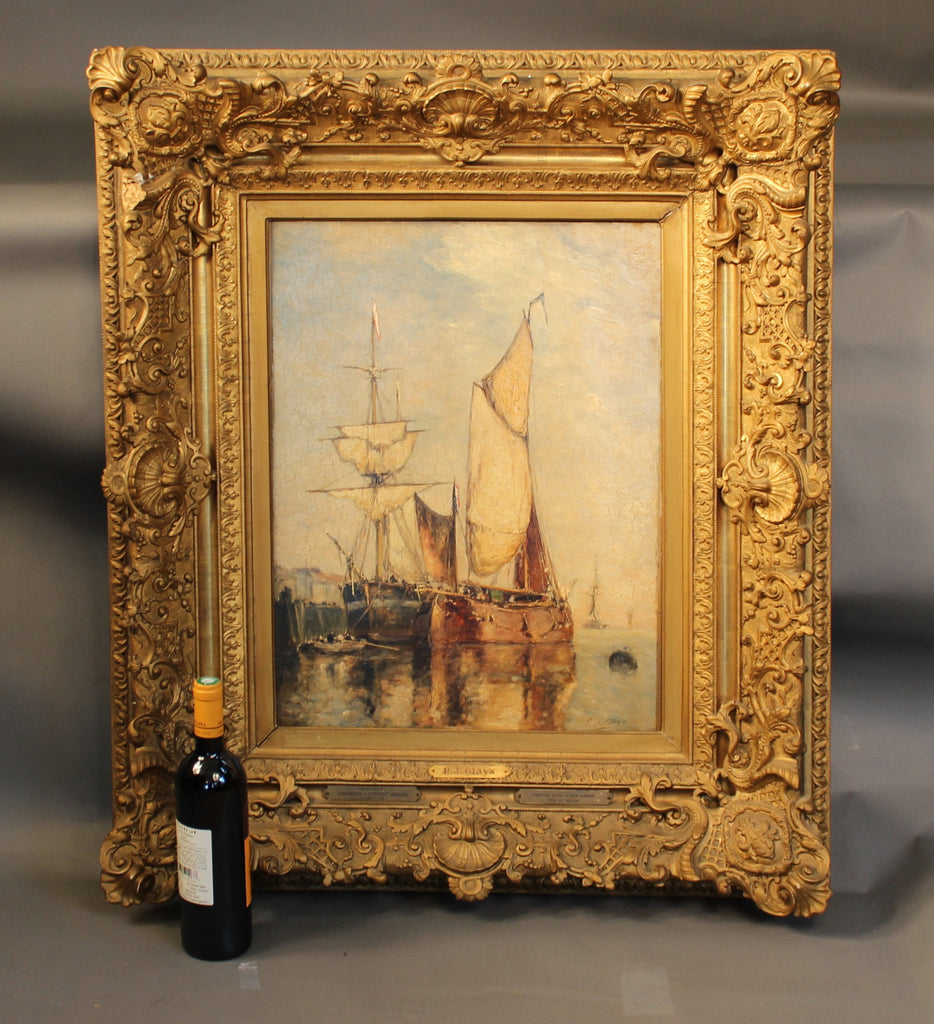 Oil on Canvas by P.J. Clays, Gift to J.P. Morgan, 1897