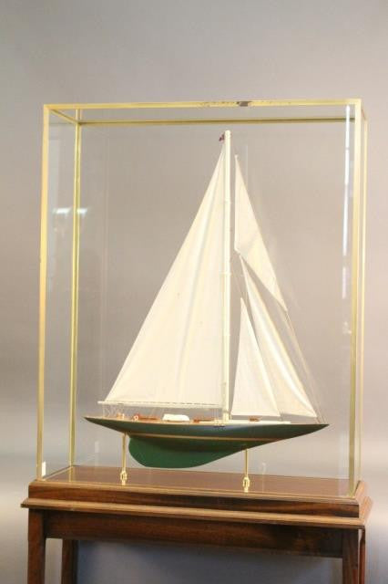 "Model of America's Cup Yacht ""Shamrock V"""