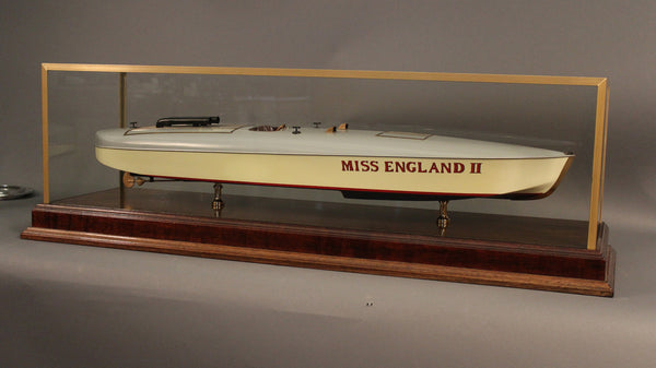 "Model of Speedboat ""Miss England II"""