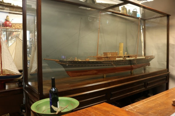 "8-Foot Model of JP Morgan's ""Corsair IV"""