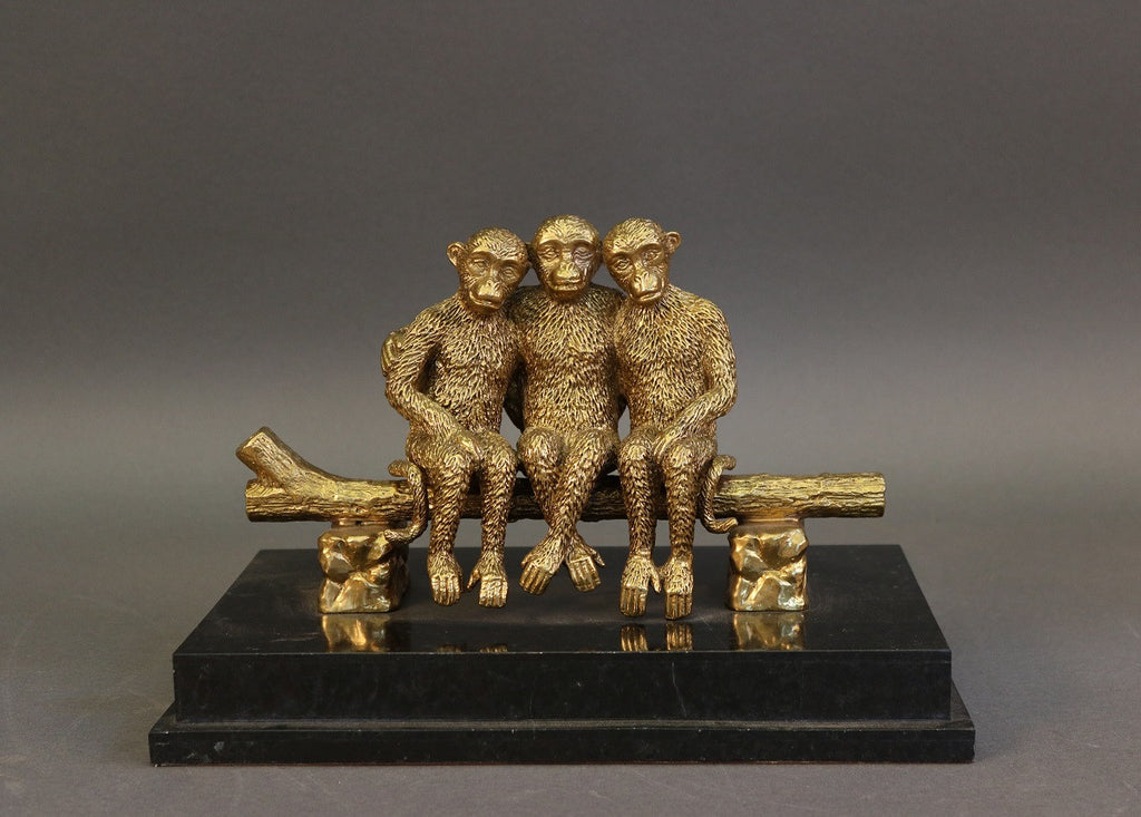 Monkey Desk or Shelf Accessory