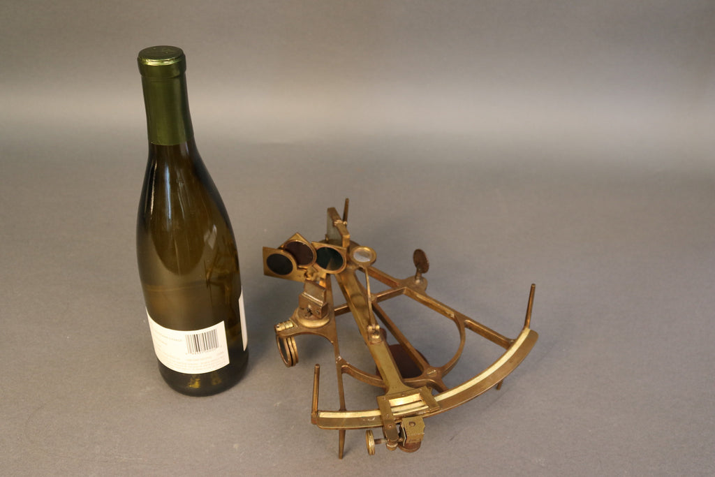 Early Brass Octant by Ludolph