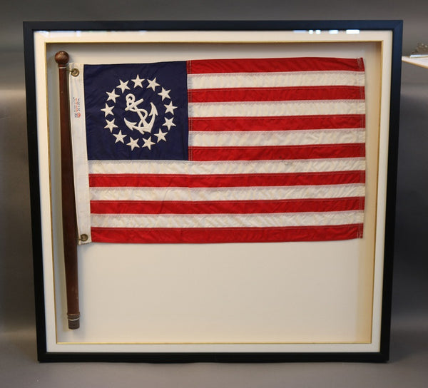 American Flag in Shadowbox