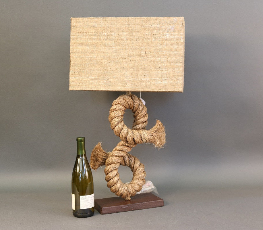 Authentic Rope Table Lamp