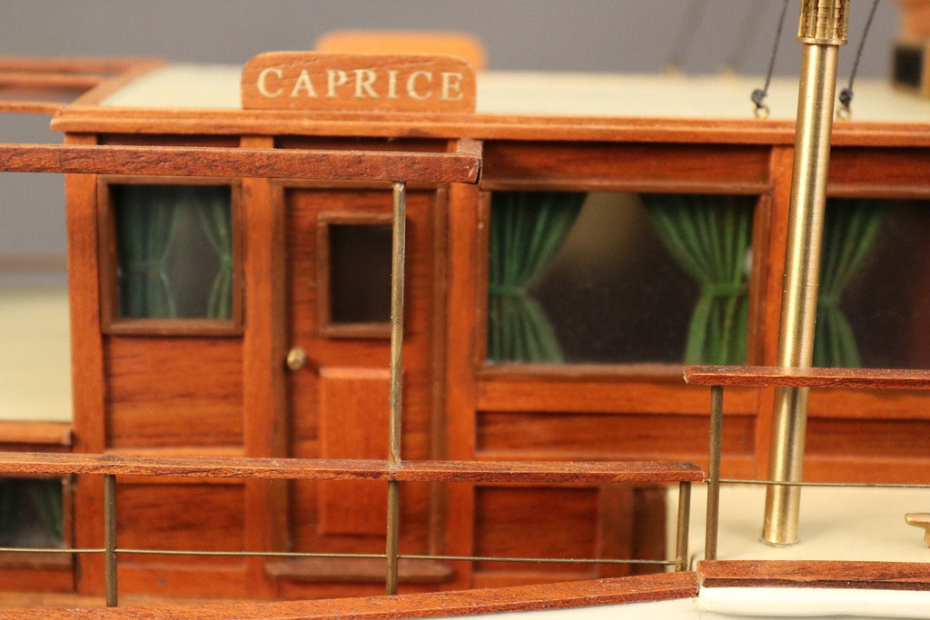 "Model of the 1930's Elco Motor Yacht ""Caprice"""
