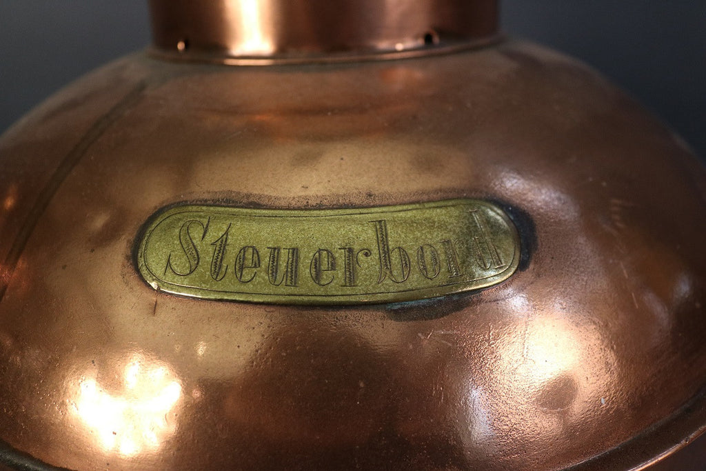 Copper Steuerboard Light
