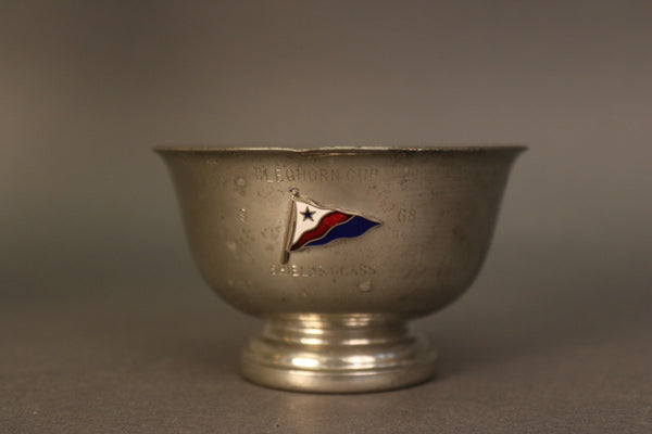 Pewter Yacht Club Trophy Bowl