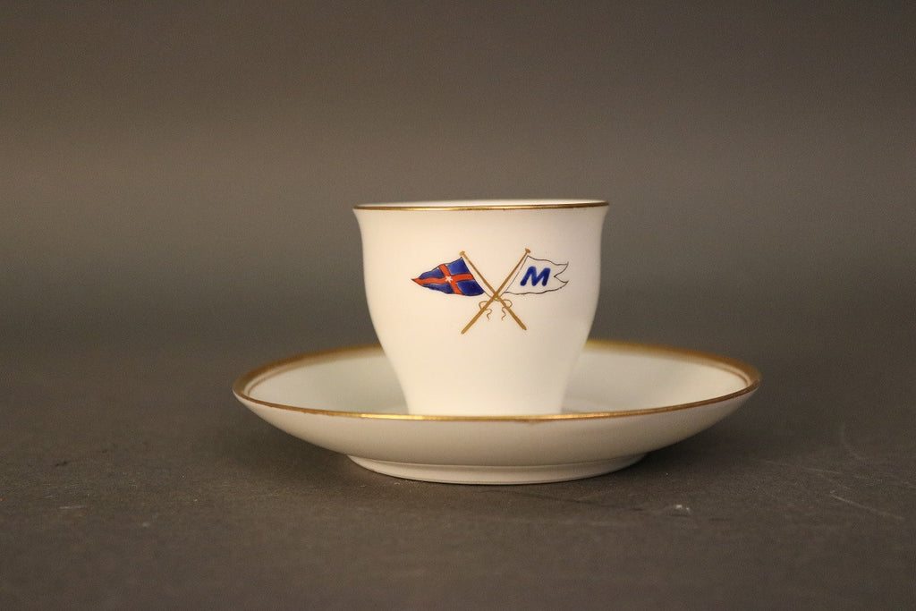 Demitasse Cup and Saucer, NYYC