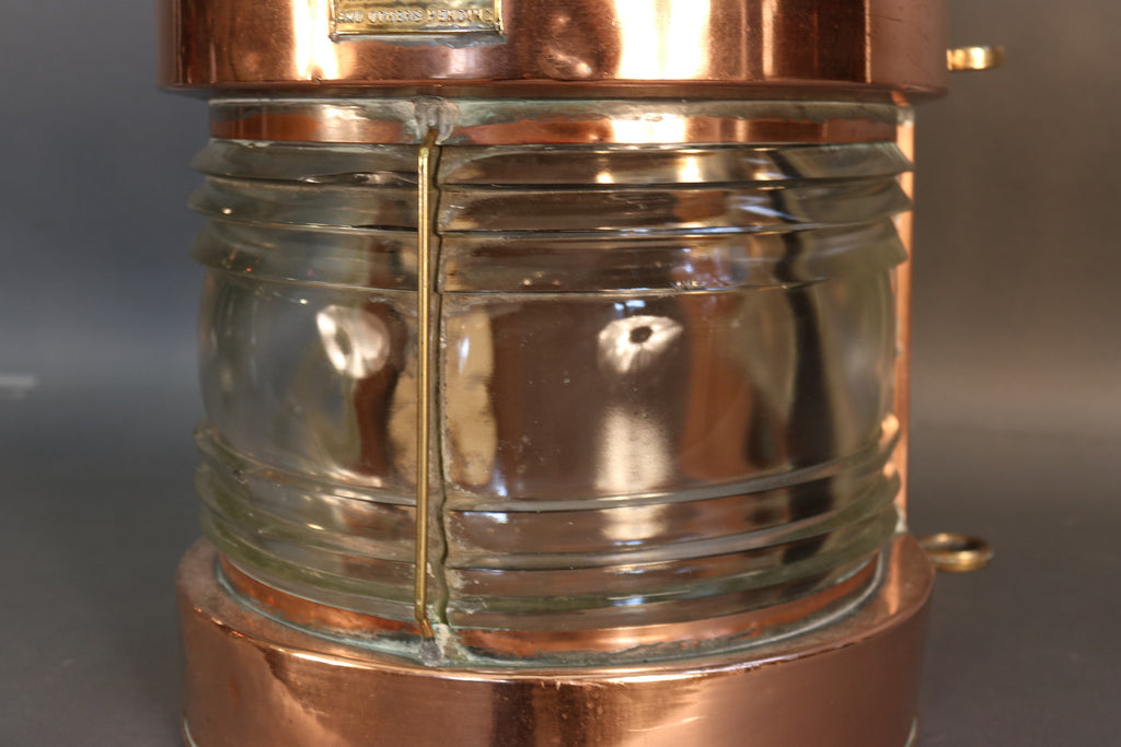 "Copper Masthead ""Towing"" Lantern"