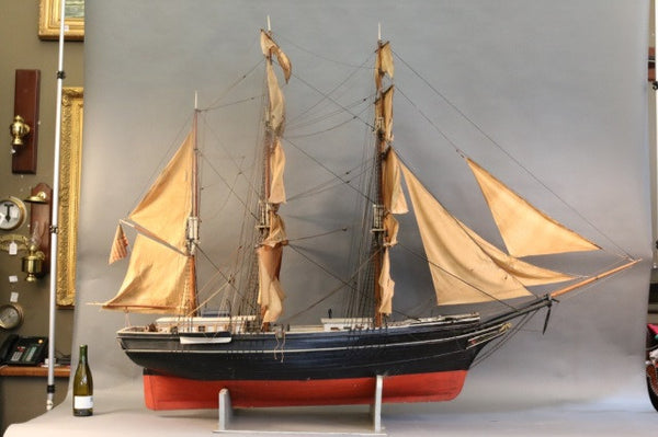 Monumental Model of a Sailing Barque