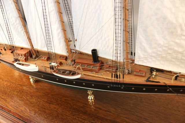 "Model of the Schooner Yacht ""Atlantic"""
