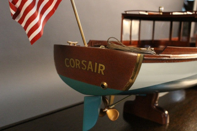 "Model of the Steam Launch ""Corsair"""