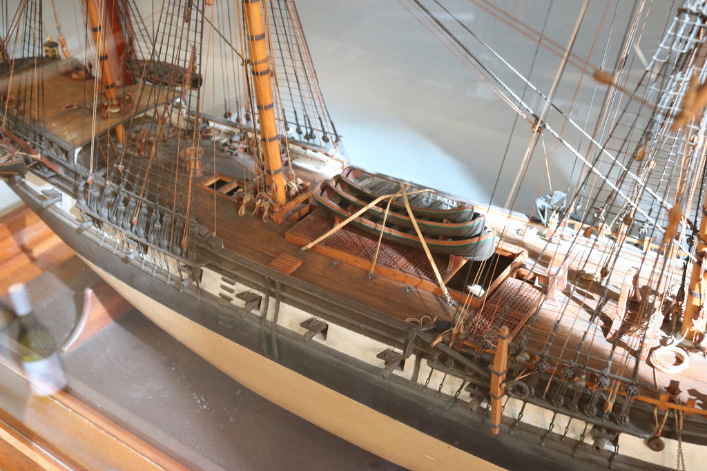 Ship Model of a Swedish Royal Navy Frigate