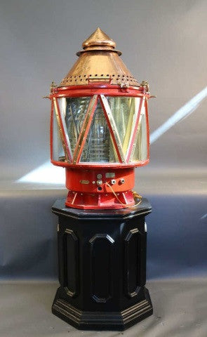 Massive Buoy Lantern on Pedestal