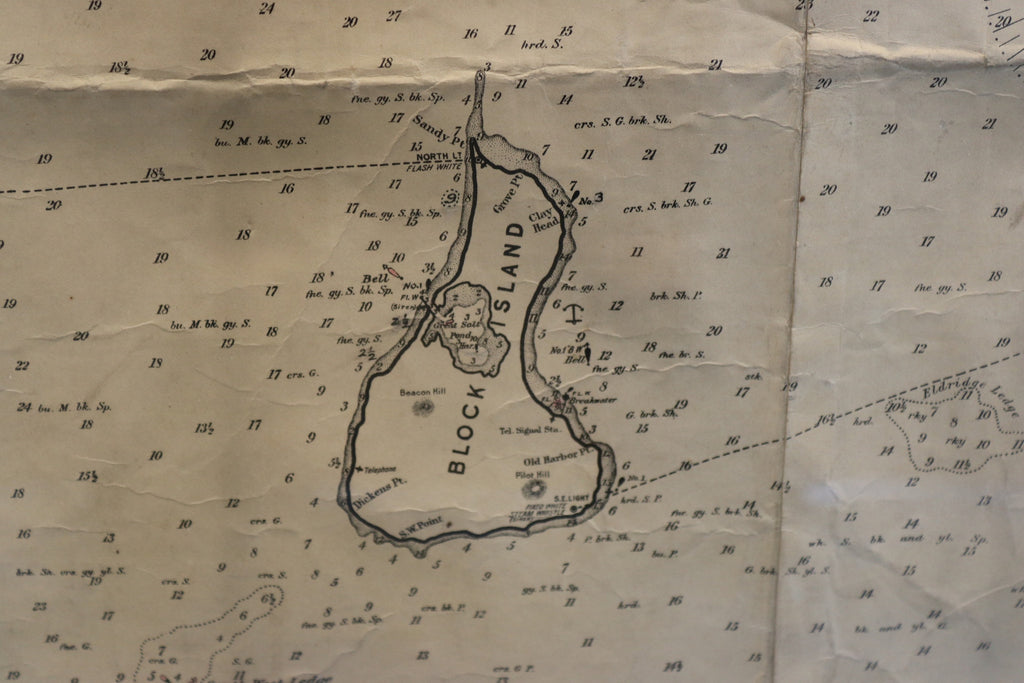 Original Eldridge Chart of New London to Gay Head