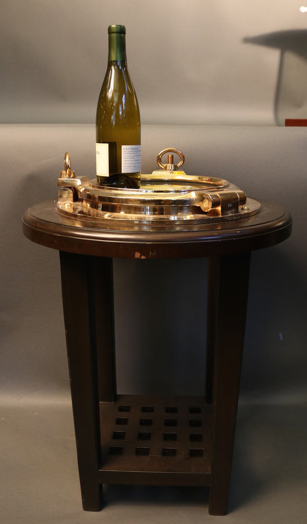 Porthole Cocktail Table