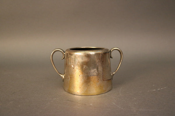 Two Handled Silver Sugar Bowl
