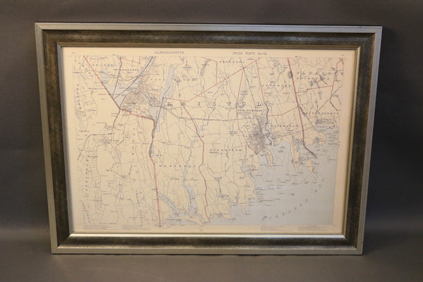 Copy of Walkers Map of Bristol County, Massachusetts