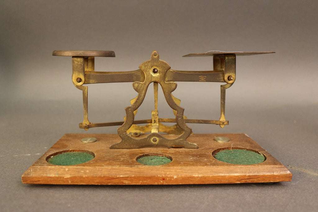 English Balance Scale, Antique