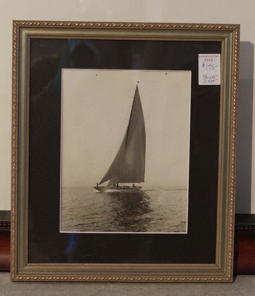 "Original Press Photo of America's Cup ""Yankee"""