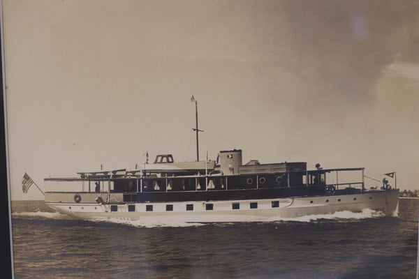 Original Photo of a Pleasure Craft