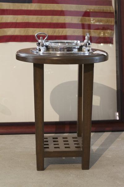 Aluminum Ship's Porthole Table