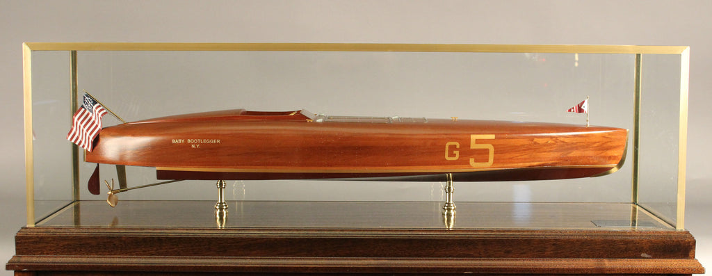 "Speedboat Model ""Baby Bootlegger"", Gold Cup Winner, 1925"