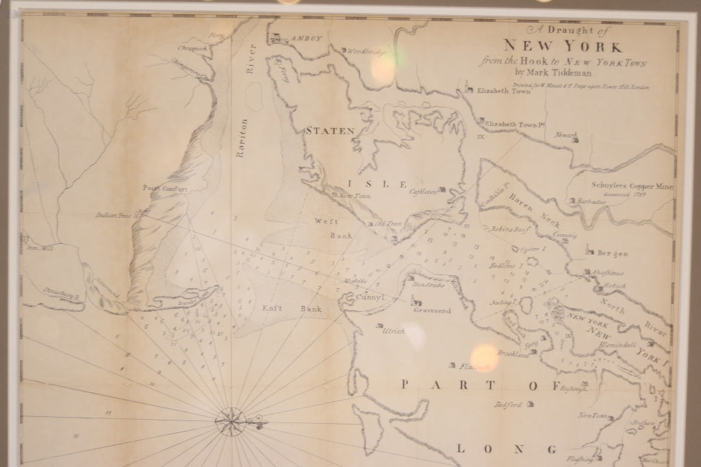 Original Map | A Draught of New York | c.1855