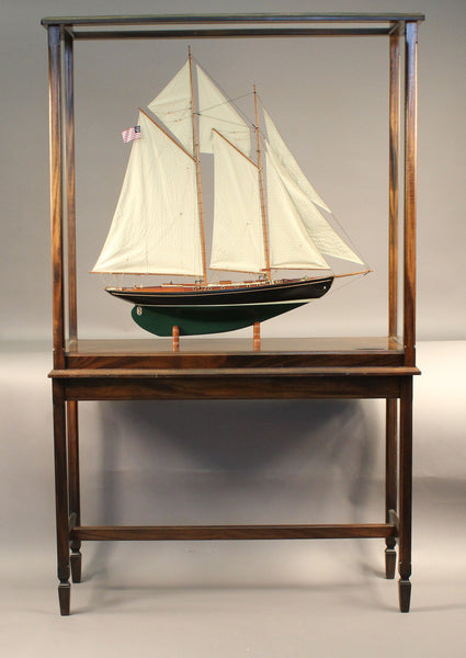 Malabar X | Naval Architect Alden Design | Display Case and Table