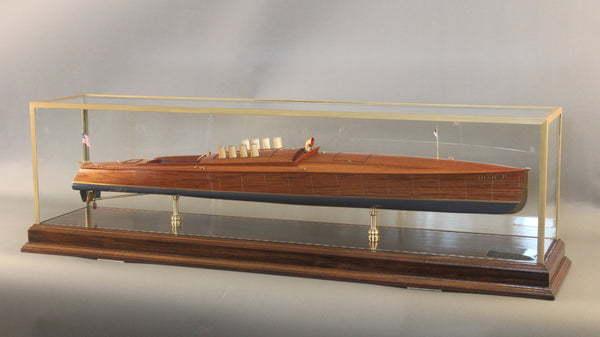 "Model of Speedboat ""Dixie II"""